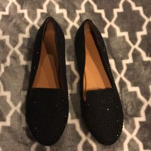 Bakers studded black loafers
